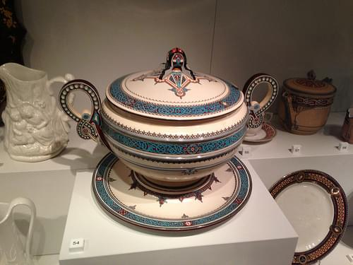 Viking-themed Tureen at Nordiska Museet - Stockholm's museum of Swedish design and folk tradition