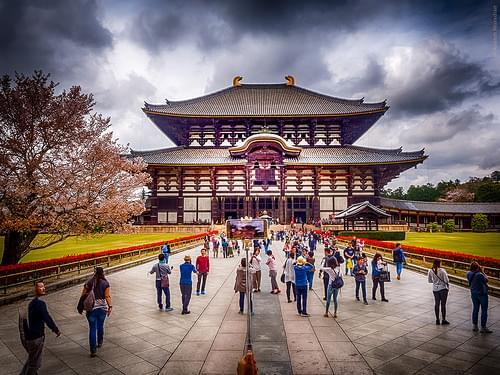 Todai-ji temple, Nara Japan