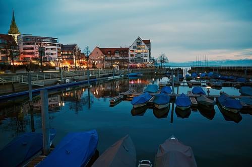 Friedrichshafen autumnal athmosphere