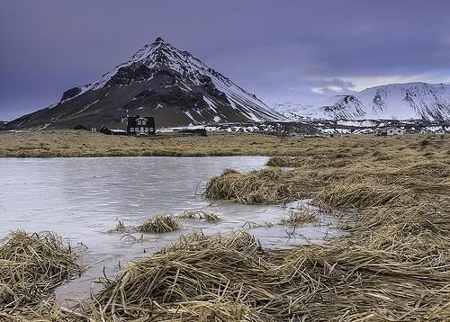 'Mt Stapafell' - Arnastapi, Iceland