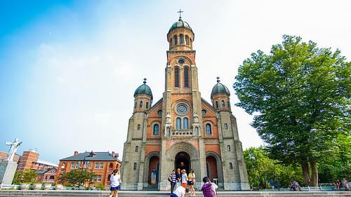Jeonju, Jeondong Cathedral.