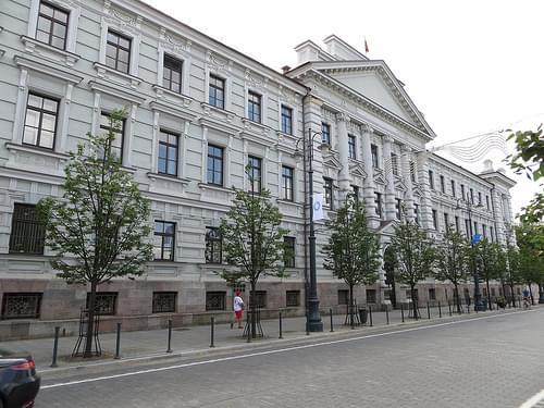 Former KGB building in Vilnius