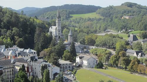 Lourdes castle