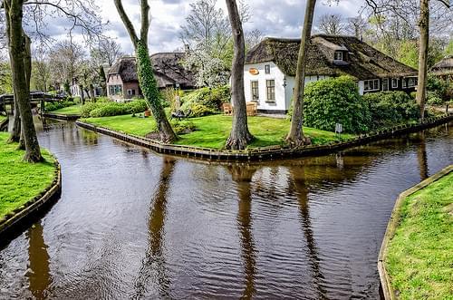 羊角村(Giethoorn)