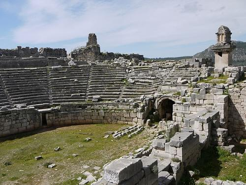 Amphitheatre at Xanthos