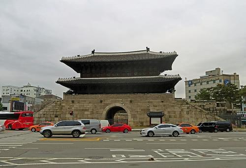 Dongdaemun Gate (Heunginjimun) - Seoul