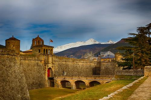 Ciudadela militar de Jaca (Huesca - España)