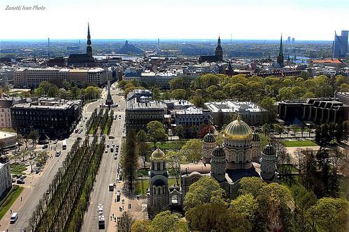 Riga  panoramika