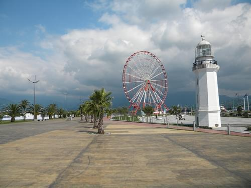 Seaside boulevard, Batumi