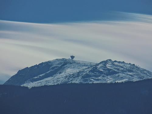 Vitosha, Cherni Peak, just windy, no effects to make the clouds look like this  Витоша, Черни връх,  ветровито.