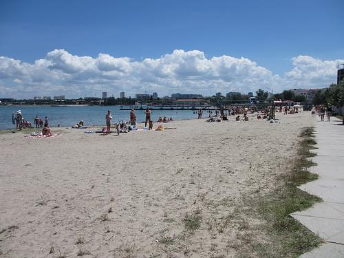 Omega beach, Sevastopol