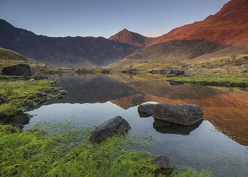 'Dawn Reflections' - Llyn Llydaw, Snowdonia