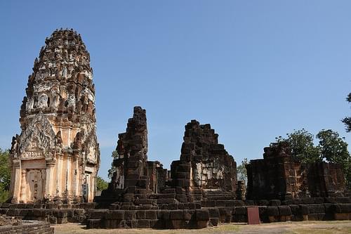 Wat Phra Phai Luang (Sukhothai, Thailand 2014)