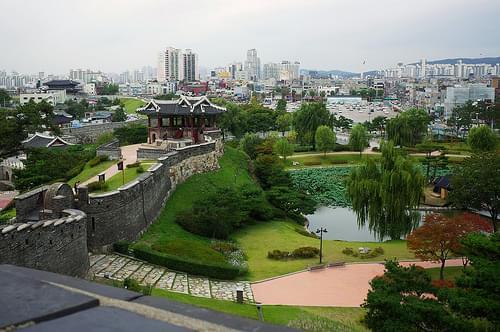 Hwaseong Fortress, Suwon, Korea (水原華城)