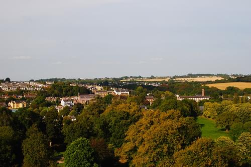 View of the Town Around Blarney Castle