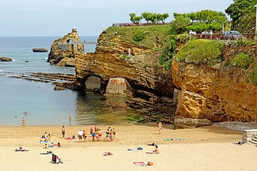 The Virgin's Rock, Biarritz