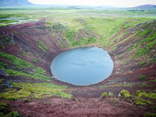 Kerið volcano crater - Golden Circle