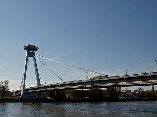Bratislava - Bridge of the Slovak National Uprising