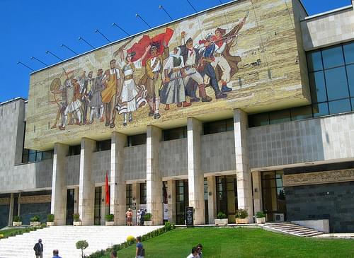 National History Museum, Skanderbeg Square