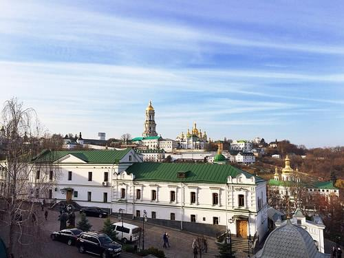 A view of Kiev Pechersk Lavra