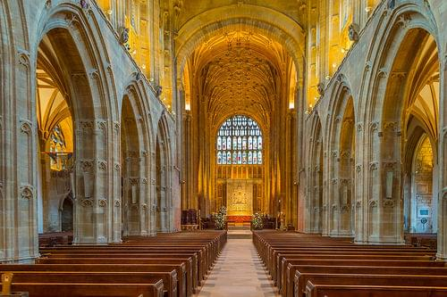 Sherborne Abbey Interior, Dorset