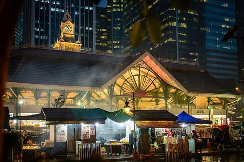 Lau Pa Sat Pavilion, Singapore