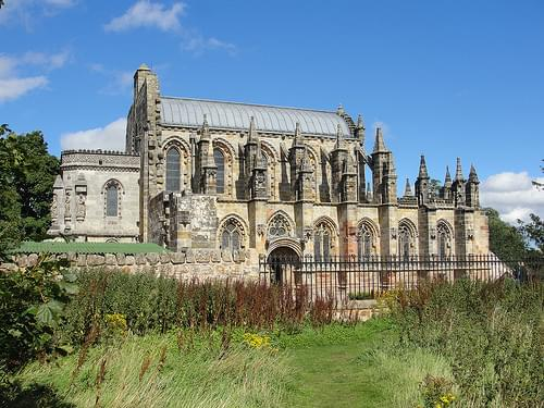 Rosslyn Chapel. Scotland