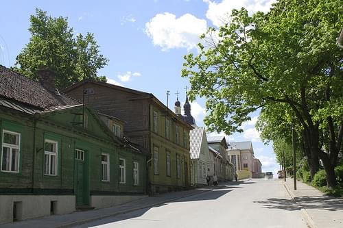 Historic Center, Voru