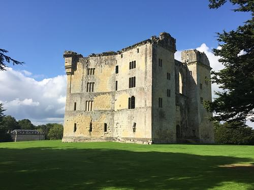 Old Wardour Castle in Wiltshire