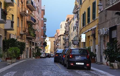 Civitavecchia, Italia.