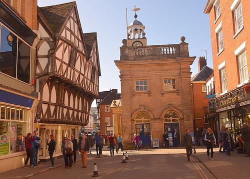 Ludlow town,Shropshire