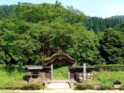 Echizen Ichinodani Asakura Family Mansion Ruins : 越前一乗谷朝倉氏居館跡
