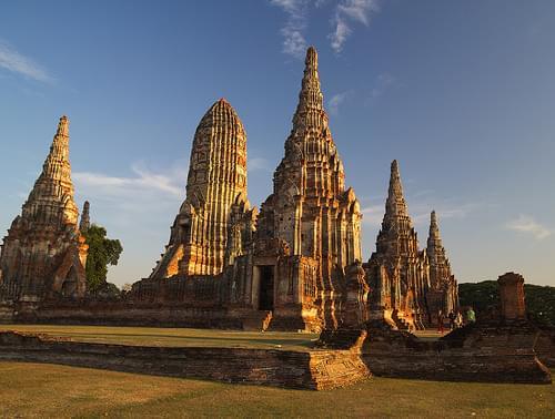 Wat Chaiwatthanaram - Ayutthaya, Thailand