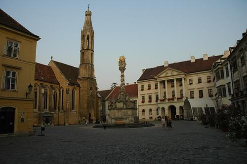 Goat Church and Chapter Hall, Sopron