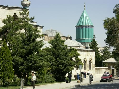 Turkey: Konya: Mevlana Museum and Shrine - 2