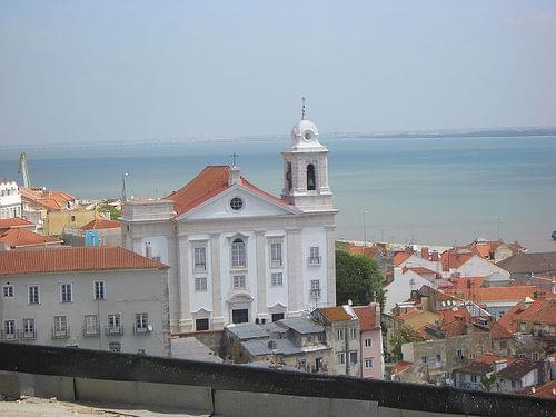 View from Miradouro de Santa Luzia