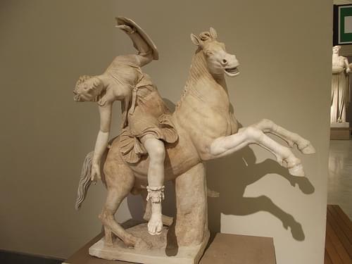 National Archaeological Museum of Naples - Amazon on horseback