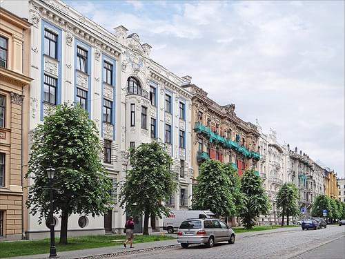 La rue Alberta (Riga)