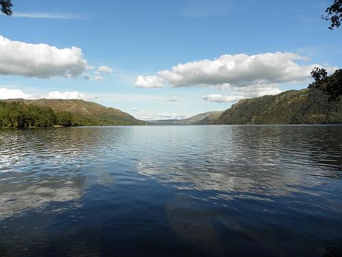 Lake Ullswater Cumbria.
