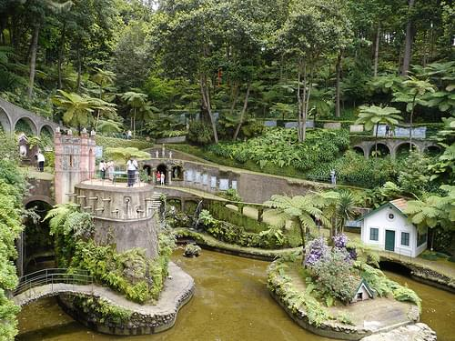 Funchal - Jardin tropical de Monte Palace