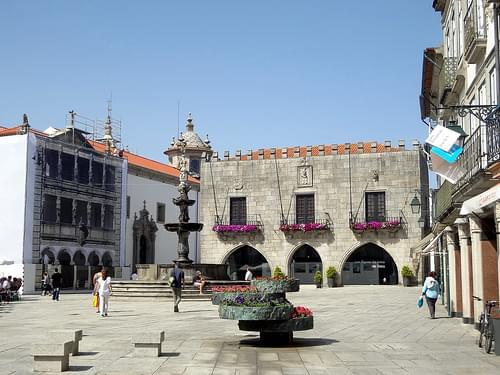 Main Square. Vianna do Castelo. Portugal