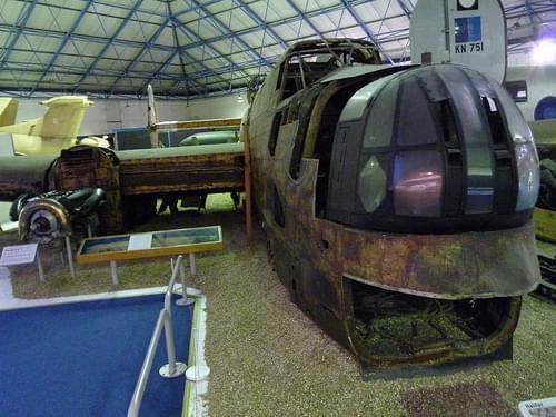RAF museum Halifax Tirpitz raid (5)