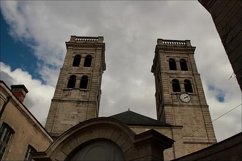 Les tours de la cathédrale de Verdun