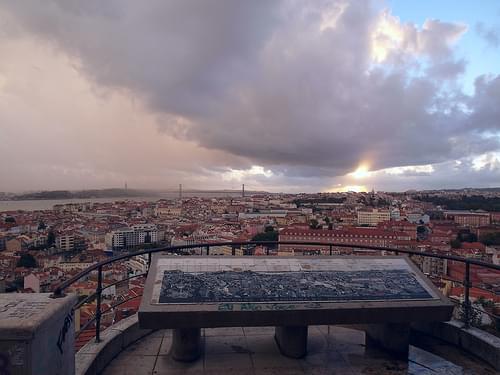 Lisbon clouds