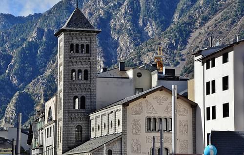Església de Sant Pere Màrtir, Escaldes- Engordany, Andorra