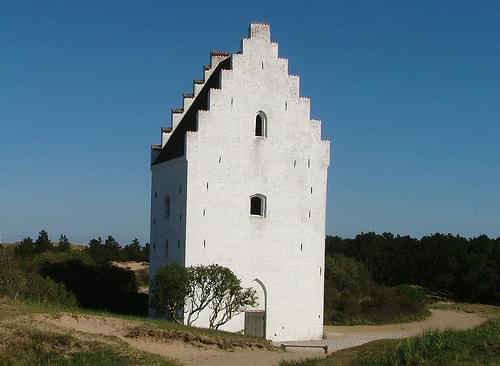Sand Covered Church