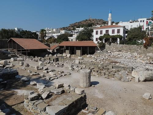 Mausoleum at Halicarnassus, Bodrum