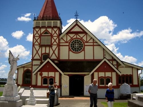 St. Faiths church, Rotorua