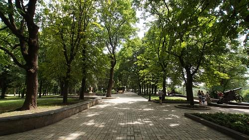Park and Colonel's House, Chernihiv, Ukraine