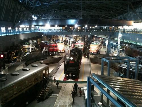 Overview, Railway Museum, Saitama